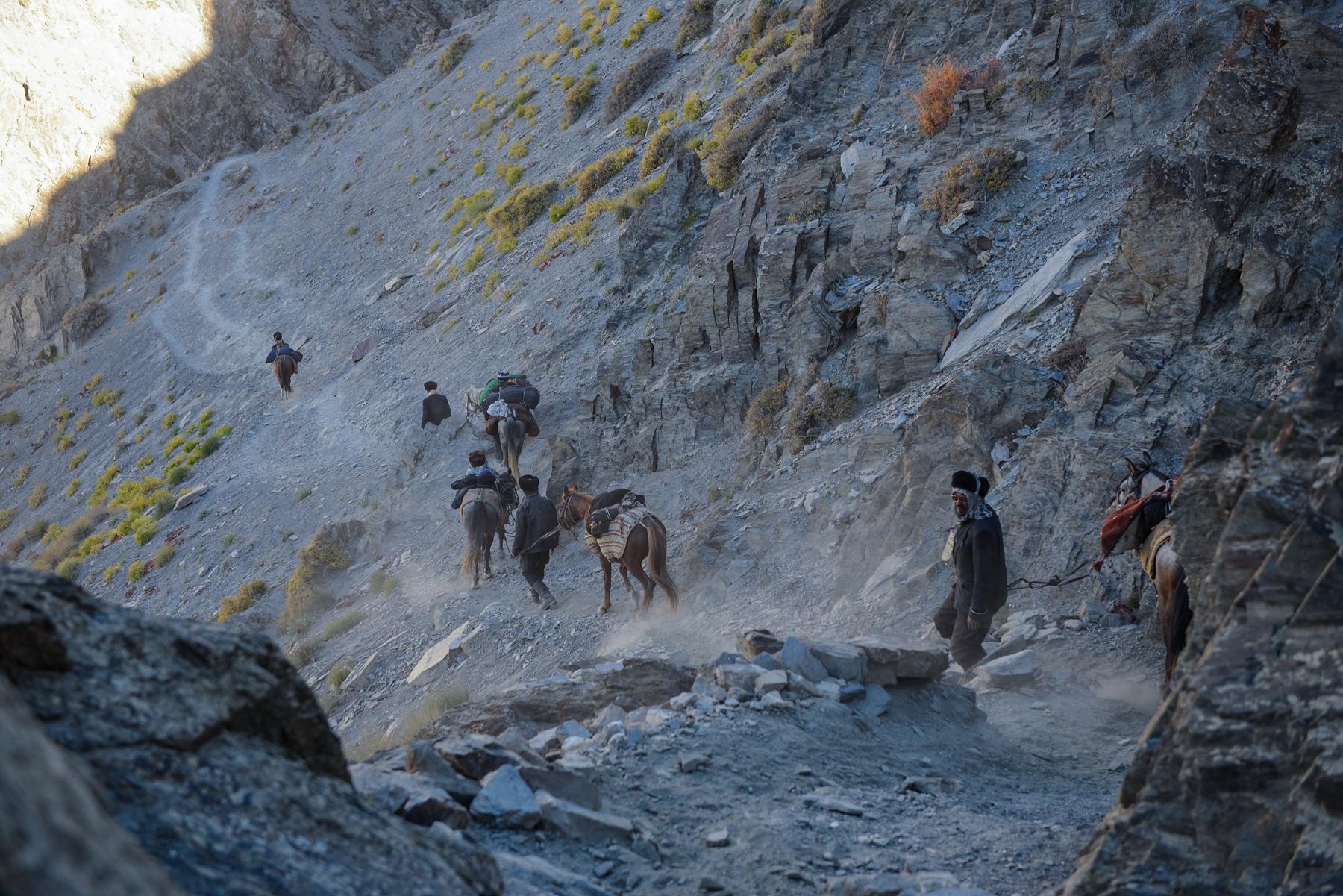 Bohrak, Little Pamir, end of September
