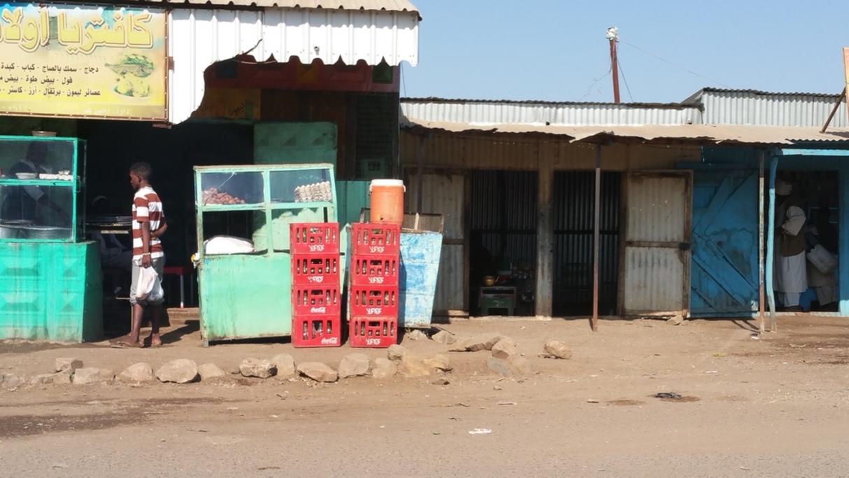Straßenladen im Ostsudan